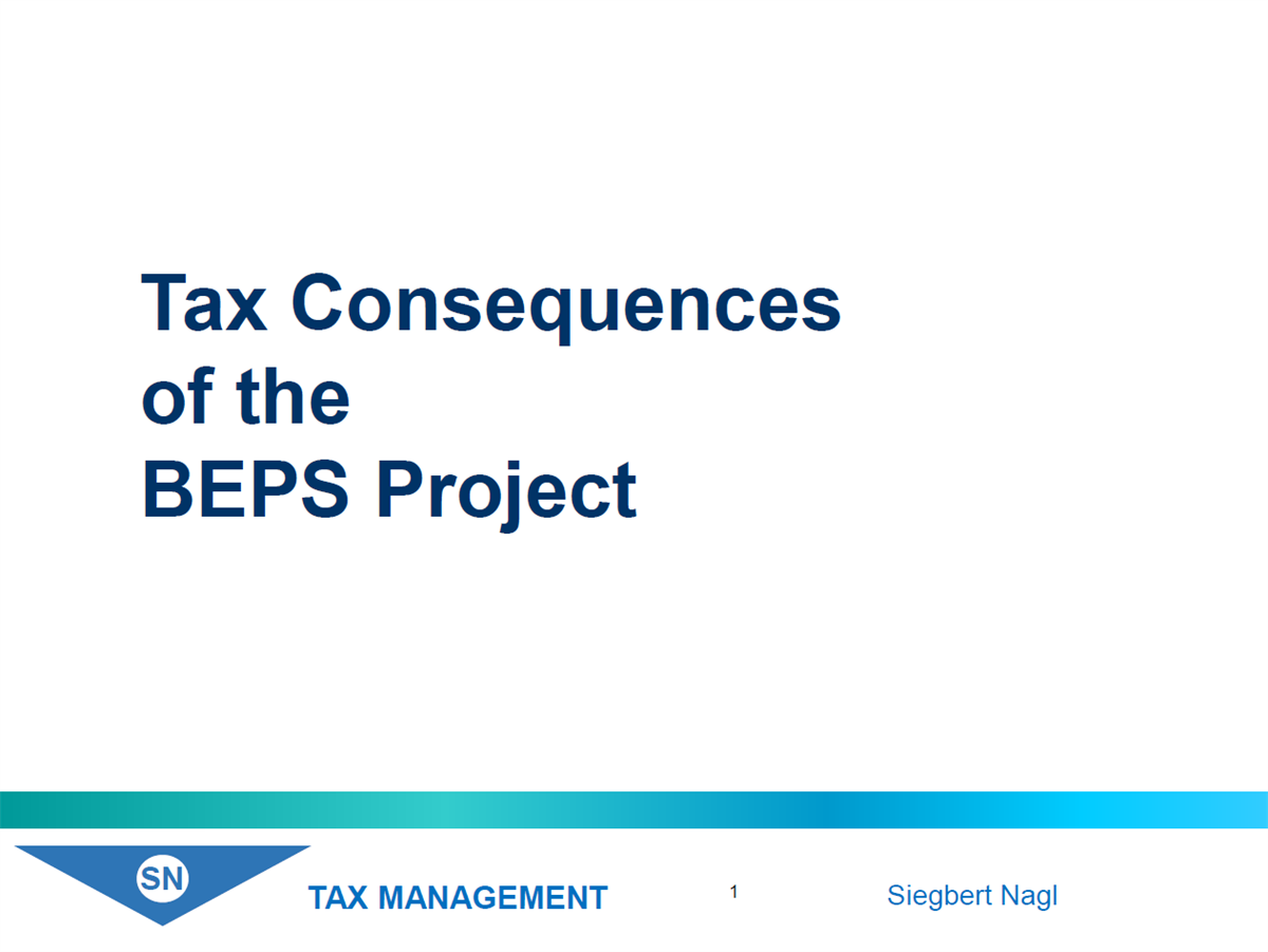 BEPS-Actions